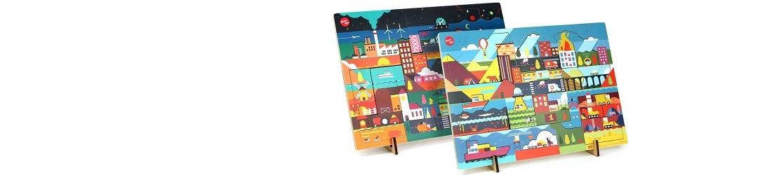 design puzzels Dag en Nacht