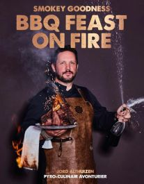 Smokey-Goodness-BBQ-Feast-on-Fire