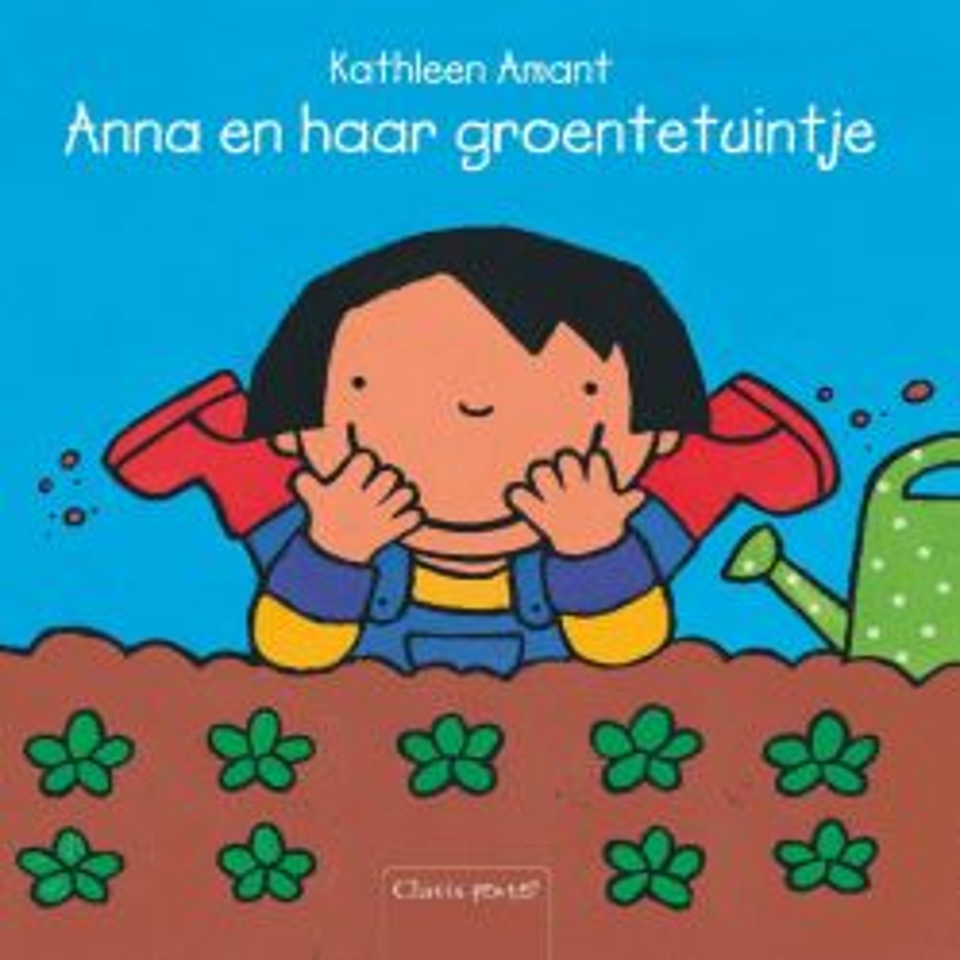 Anna-en-haar-groentetuintje