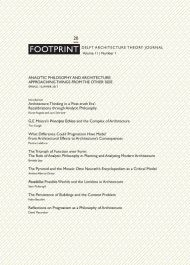 Footprint-20-analytic-philosophy-and-architecture-spring/summer-2017