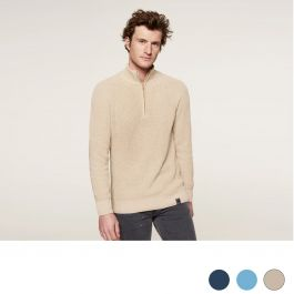 Loop.a-life-Cotton-Zip-sweater-heren