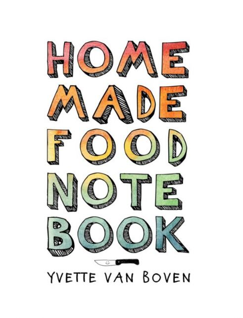 Home-made-food-notebook